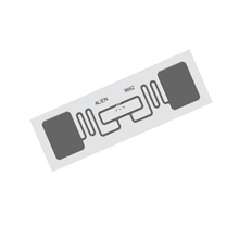 hot sell uhf rfid iso180006c printable epc gen2 long range passive uhf rfid adhesive tag alien h3 chip