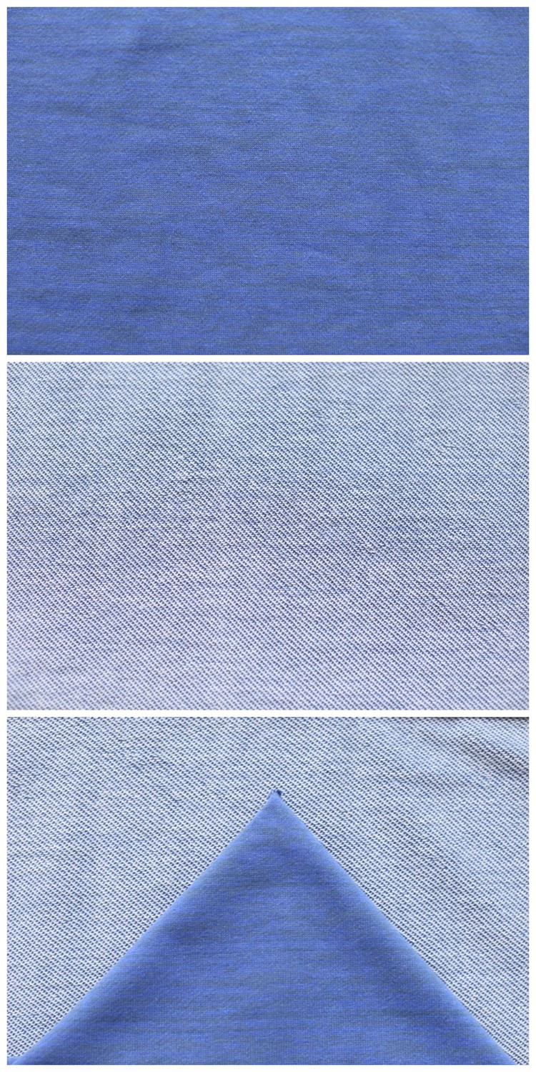Custom Competitive Price Stretch Polyester Cotton Knit Terry Cloth Fabric