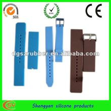 Wholesale luxury blue silicone watchband