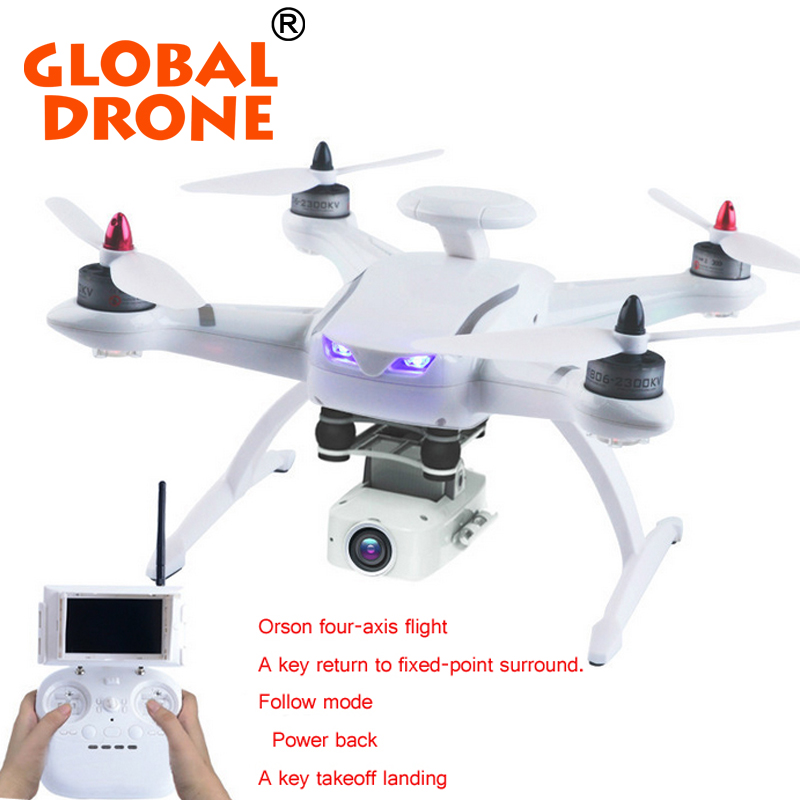 Follow Me RC Drone GPS CG035 2.4G Brushless Motor Altitude Hold Headless Mode UFO Drone Quadcopter With Double GPS