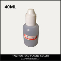 China large supply 40ml LDPE plastic empty bottle for eye drop wholesale