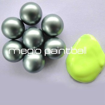 Metalic Chrome Shell Tournament paintball balls, paintball balls 0.68, paintball ball prices
