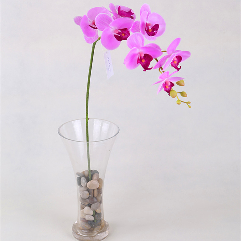 32'' long home wedding decor real touch flower artificial orchid bouquet