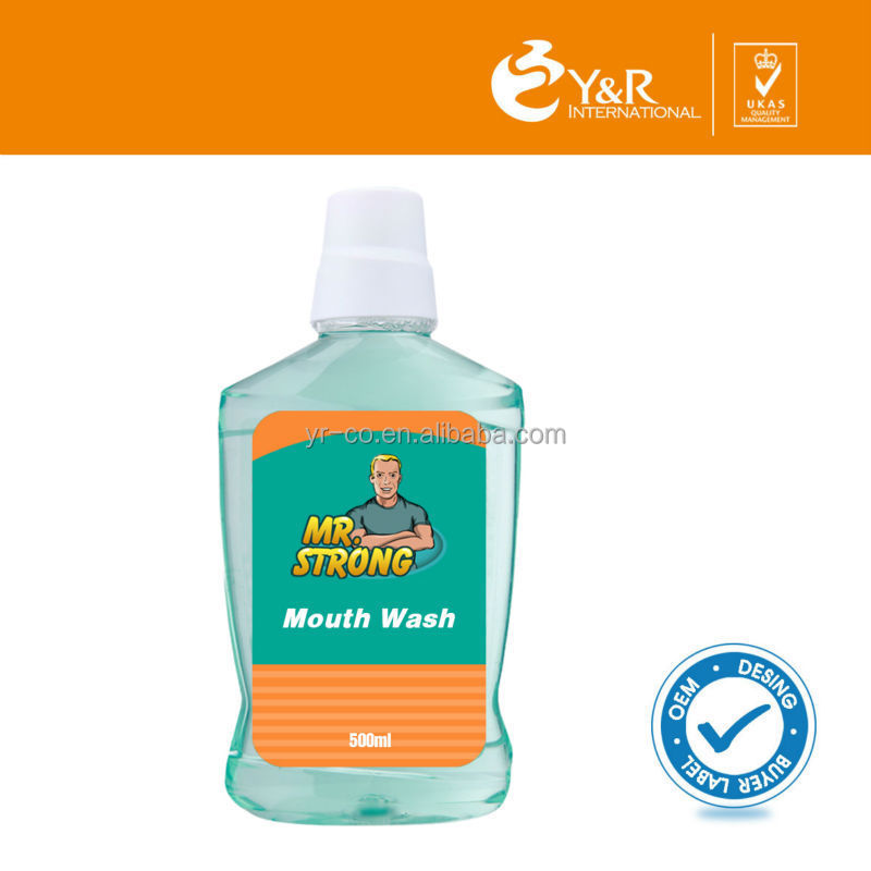 High quality and Organic total care mouth wash