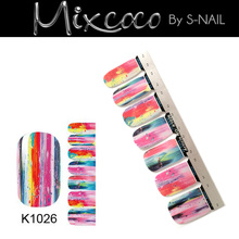 Gel Nail Art Supplier Nail Wraps Nail Decorate Sticker wholesale