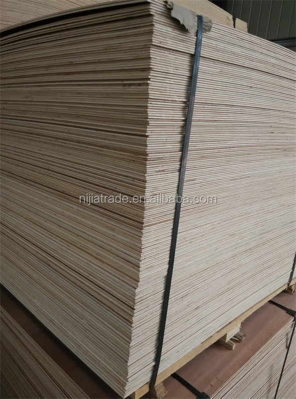china supplier 3mm commercial plywood furniture material okoume wood veneer plywood