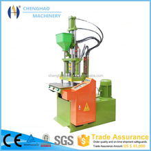 china hydraulic clamp vertical injection molding machine