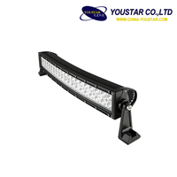 LEDs 120W 22inch Spot Flood Combo Curved light bar offroad driving illuminator led light bar for jeep truck suv
