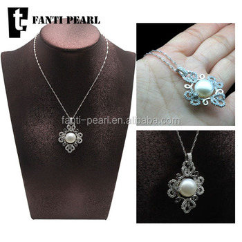 Fancy 925 silver pendant with freshwater pearl pendant for best fancy 925 silver pendant with freshwater pearl pendant for best friend natural pearl price aloadofball Image collections