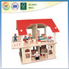 Hot selling products 2016 of wooden doll house