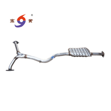 Automobile catalytic converter middle section with 409 stainless steel and pruduce as inquiry