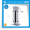 15 Liters Vertical Type for Stainless Steel Vacuum Manual Sausage Filler Stuffer
