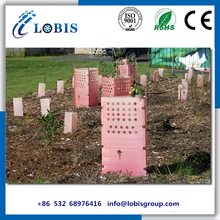 Corrugated plastic tree guards/Fluted pp tree protector/triangle guard