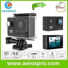 Big sale!!! Action Camera 1080P FHD Sport Cam H9 Mini Camcorders H9 wifi Action Gopros Camera Diving 30M Waterproof Sport Camera
