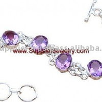 Tropical Fashion Accessories Wholesale Amethyst Jewelry