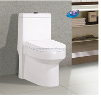 Lucky Brand Top Sanitary Ware Ceramic Water Closet/High Quality One Piece Toilet/BathroomToilet with CE certificate
