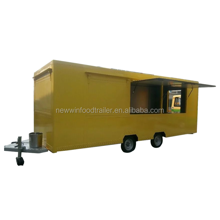 Best Quality cart food mobile cart truck trailer