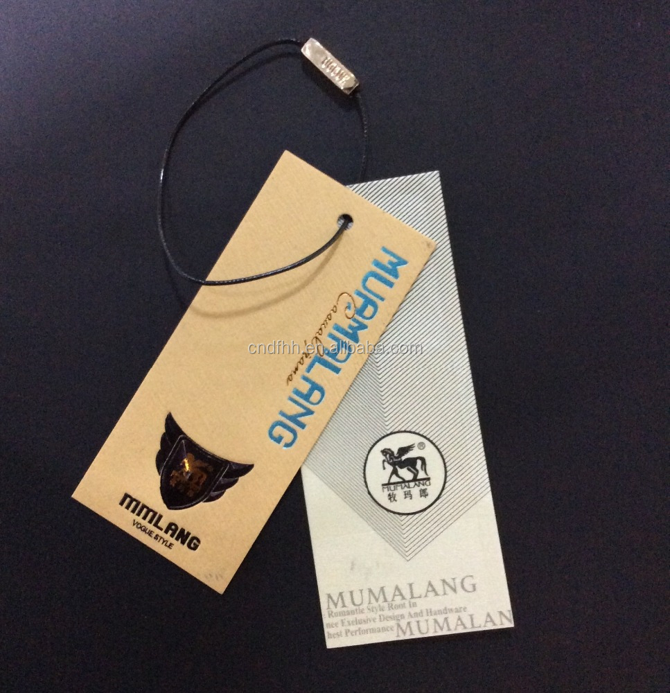 New Design Paper Hangtag,jeans hang tags
