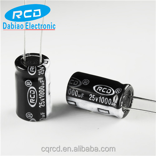 Original electronics Aluminum electrolytic capacitor 25v 1000uf CD110