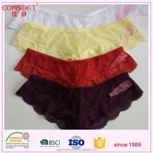 assorted colour hot sexy ladies lace thong bikini photos panty wholesale
