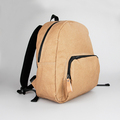 Customizable size kraft paper hiking backpack waterproof foldable paper backpack