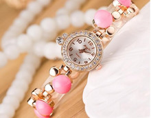 women Novelty quartz watch Fashion Novelty Colorful watch Jewelry Bracelet watch