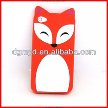 promotional souvenir cell phone cover,cartoon silicone phone waterproof case