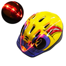high quality rechargable electronic kids light up led safety helmet