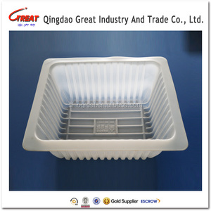 Disposable Food containers Trays for packaging PP Blister dumpling tray frozen food contaier