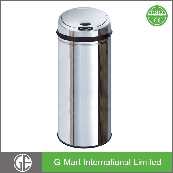 Stainless Steel Automatic Recycling Bin Waste Bins Trash Bin