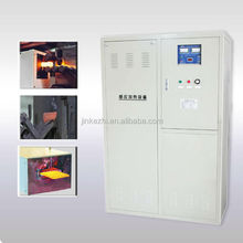 160KW IGBT induction heating machine for steel plates heating before forging press