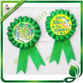 St.Patrick's Day Rosette ribbon, award ribbon rosette