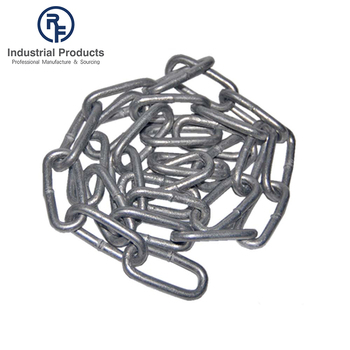 OEM steel metal hot dipped galvanized welding lightweight chain