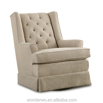 Hot Selling Swivel Glider Chair And Ottoman Best Home Living Room Chairs Part 39