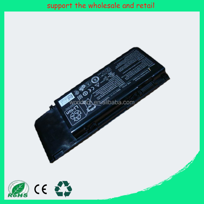 Wholesale laptop battery For Dell alienware M17X F310J C852J Cheap notebook Battery
