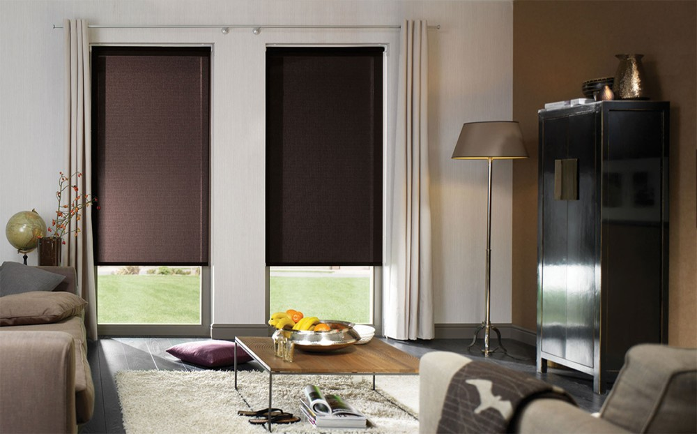 2016 Simple and Generous Zebra Blinds/Roller Blinds/China window roller blinds, waterproof fabric curtains