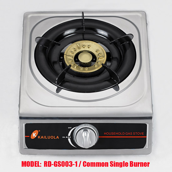 1 Single Gas Stove (RD-GS003-1) gas stove lighter