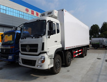 China top brand 6x4 Dongfeng 10m refrigerated truck parts 9.6m refrigerated cold room van truck