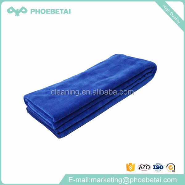 Colored absorb water cleaning disposable micro fiber terry cloths rags