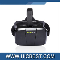 Hot selling VR 3d glasses for sexy movie Attractive vr box 3d Virtual Reality Helmet Video Glasses for mobile phones