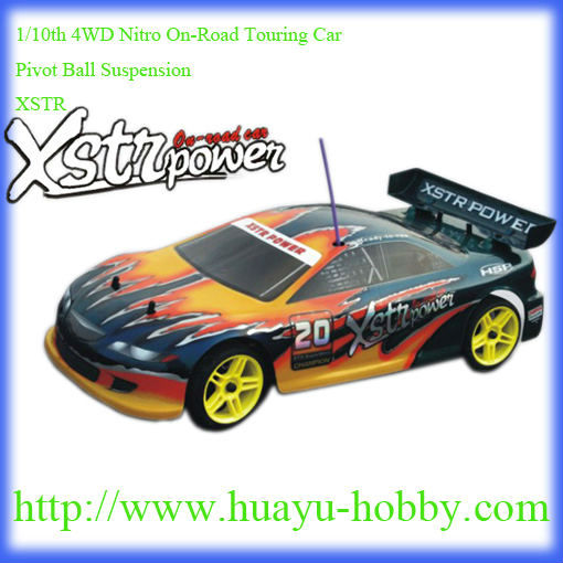 1/10th 4WD Nitro On-Road Touring Car