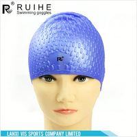 FACTORY DIRECTLY OEM quality waterproof swim cap with many colors