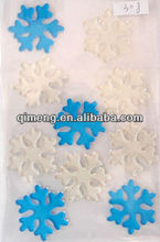 festival gifts decoration snowflake window stickers