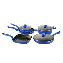 Aluminum prestige non-stick coating forged cookware set