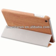 Filp With Stand PU Leather tablet back cover housing for Ipad mini