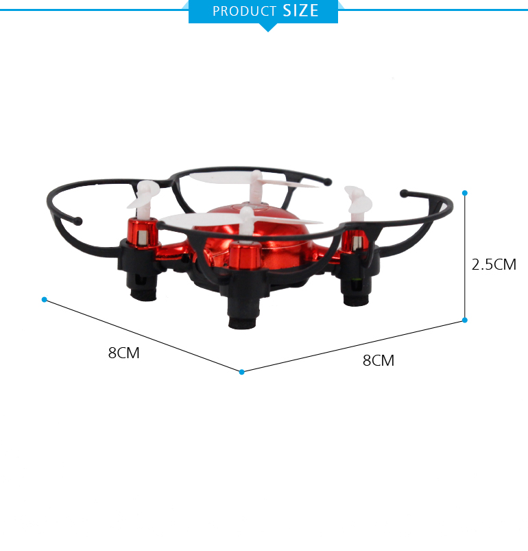 children toy 2.4G altitude hold 4 axis wifi mini rc micro drone with camera