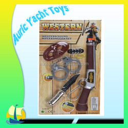 Flashing cowboy gun playset for sale with light and sound