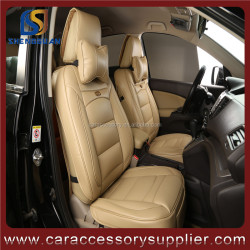 new leather and 3D leather luxury car seat cover