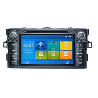 7 inch 256 MB RAM car radio for Toyota COROLLA 2012 car dvd player with GPS,Radio,bluetooth,steering wheel