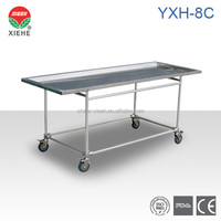 YXH-8C Funeral Stainless Steel Embalming Table